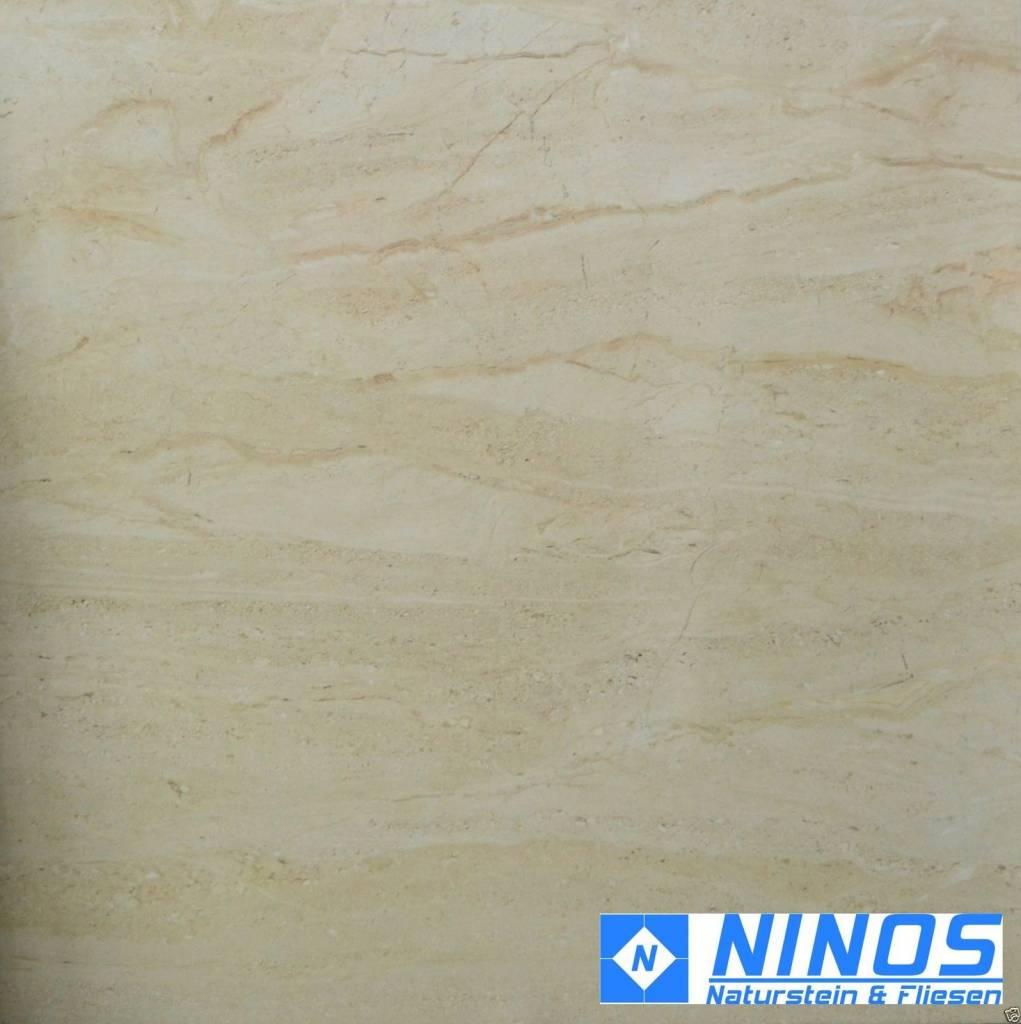 Great Bodenfliesen Marble Beige 80x80 Cm Hochglanzpoliert