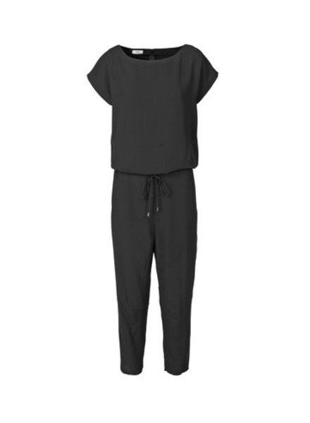 Mads Norgaard Zwart Jumpsuit Crepe Georgette