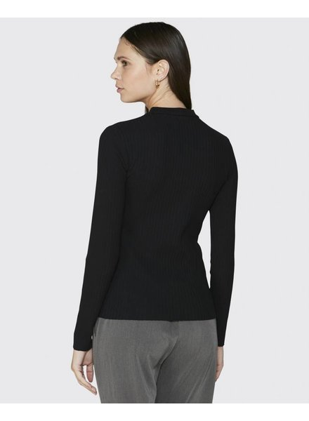 Minimum Zwarte Longsleeve Maryam