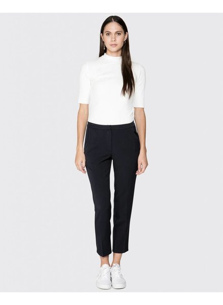 Minimum Zwarte Pantalon Halle