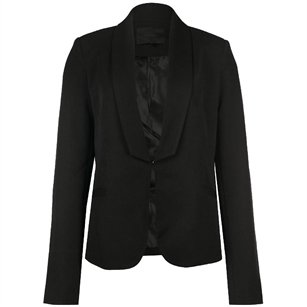Minimum Zwarte Getailleerde Blazer Donnatella