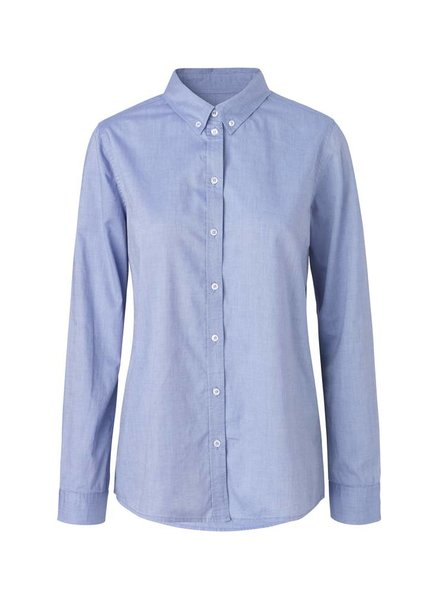 Mads Norgaard Selma Blouse  Light Blue
