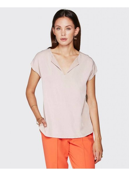 Minimum Roze Viscose Top Ginnie