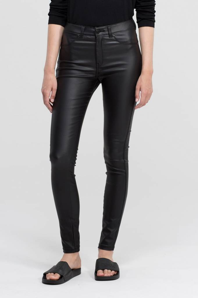 Dr. Denim Jeans Plenty Black Metal