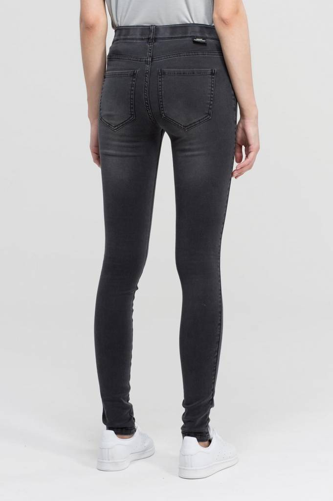 Dr. Denim Grijze Jeans Plenty Mid Grey