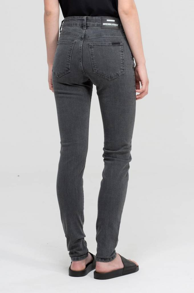 Dr. Denim Jeans Regina Organic Mid Grey