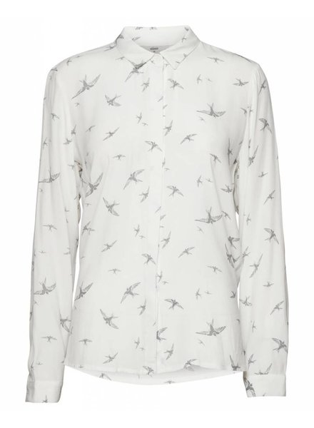 Minimum Witte Blouse Ciliane