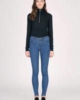 Dr. Denim Jeans Lexy Organic Mid Blue