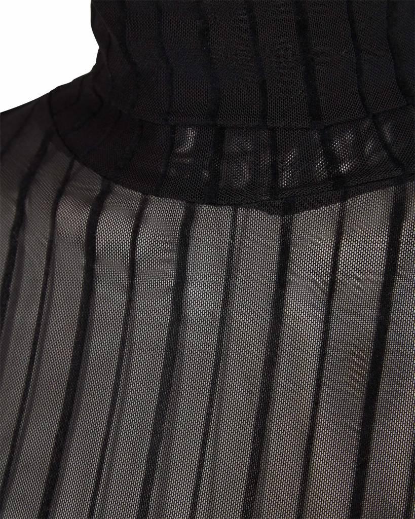 Minimum Zwarte doorschijnende top Eike