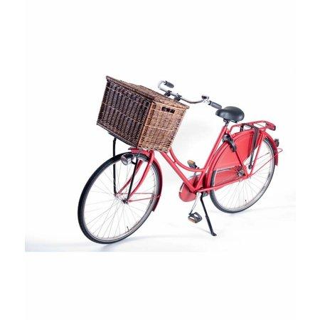 Steco Transport voordrager Original voor fietsen volwassenen - wit