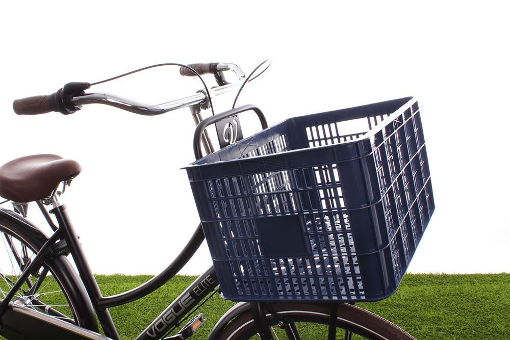Een groot fietskrat