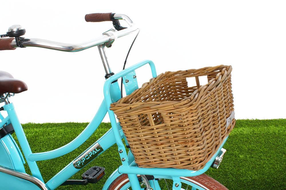 Rotan fietsmand