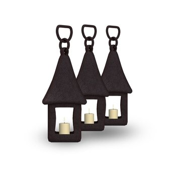 Luxus Kerzenständer 3 Stück