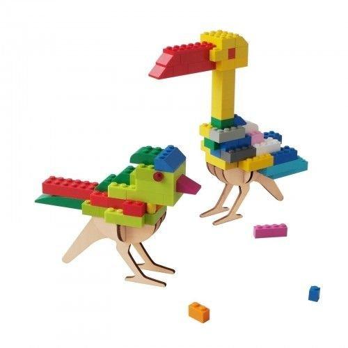 Brikkon Vogel voor lego