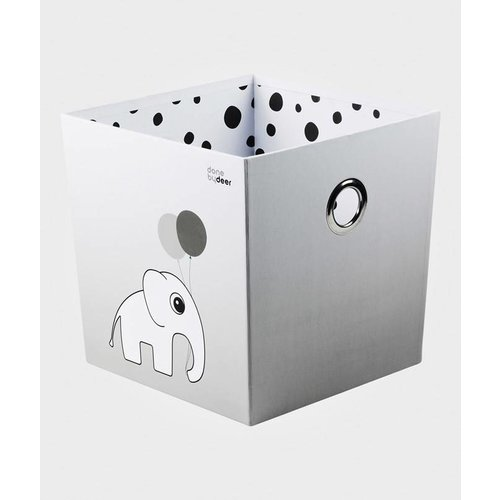 Done by Deer Done by Deer Stacking box, Happy dots, grey