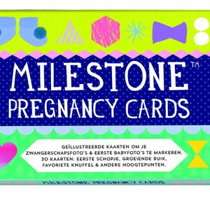 Milestonecards pregnancycards NL