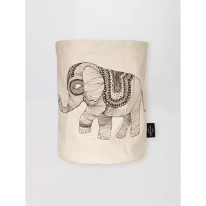 Mini Empire Mini Empire Textile bag Elephant 20 x 30 cm