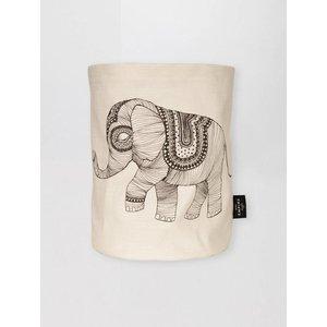 Mini Empire Mini Empire Textile bag Elephant 20 x 30 cm