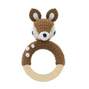 Sebra Sebra bijtring bambi 0+