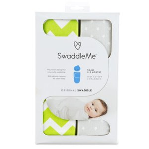 Swaddle me SwaddleMe 2-pack small in 4 varianten verkrijgbaar
