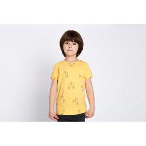 Lotiekids Lotiekids Jersey Tshirt Katoen RACKETS Warm Yellow