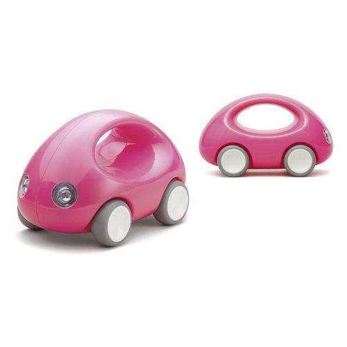 Kid O GO CAR 15x9x9cm, met handgreep en rubber wielen