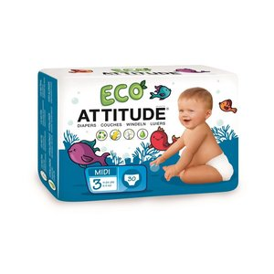Eco attitude Eco Attitude luiers [36 stuks]