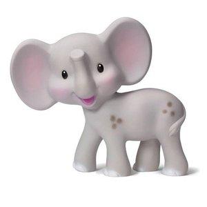 Infantino Bijtspeeltje  0+ m nat. rubber olifant