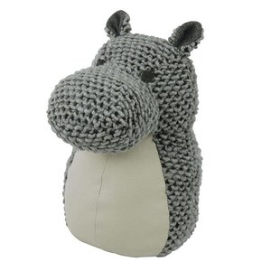 The Zoo ROCKY HIPPO doorstopper/bookend