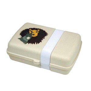 Zuperzozial Lunchbox Lion,  Biologisch bamboe en mais