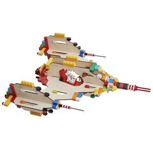 Brikkon  Spaceship voor Lego