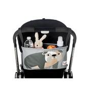 3Sprouts 3Sprouts opbergtas voor kinderwagen