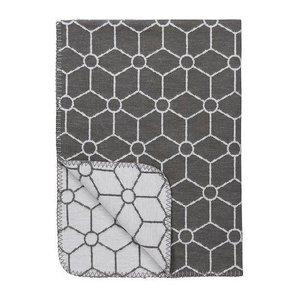 Meyco Meyco deken biologisch katoen Honeycomb jeans