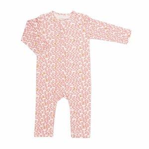 Trixie Trixie Onesie - Jumpsuit  Pebble Pink lange mouwen