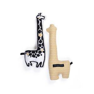 Wee Gallery Knuffelkussen Giraf Wee Gallery