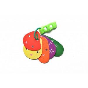 Wee Gallery Stroller cards Fruit & Veggies Wee Gallery