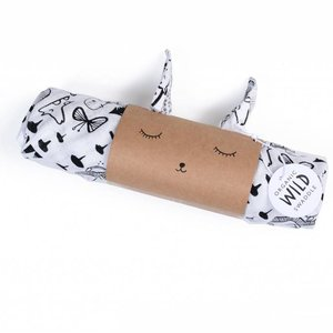 Wee Gallery Swaddle Animals 120x120 cm Wee Gallery