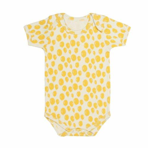 Trixie Romper Balloon Yellow korte mouwen