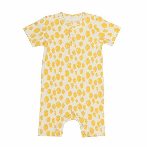 Trixie Trixie Onesie - Jumpsuit  Balloon Yellow korte mouwen