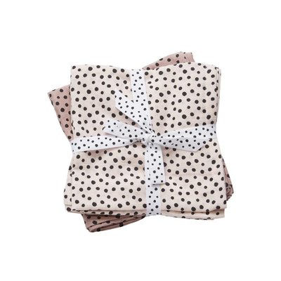 Done by Deer Done by Deer Swaddle 2-pack Happy Dots