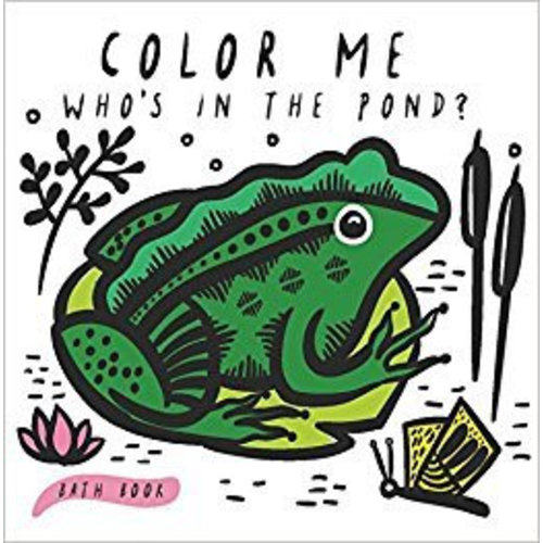 Wee Gallery Bath Book Color me Pond Wee Gallery