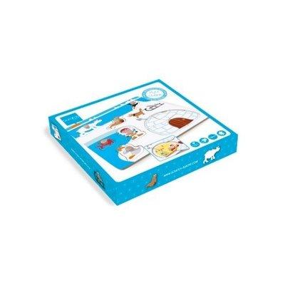 Scratch Houten knoppuzzel: Eskimo +18m Scratch