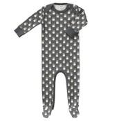 Fresk Fresk pyjama met voetjes Pineapple Antraciet