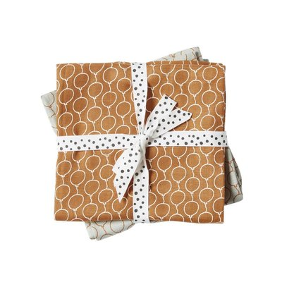 Done by Deer Done by Deer Swaddle 2-pack Golden Balloon