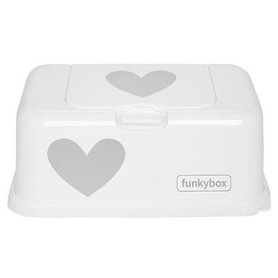 Funky Box Funky Box Wit Zilveren Hart