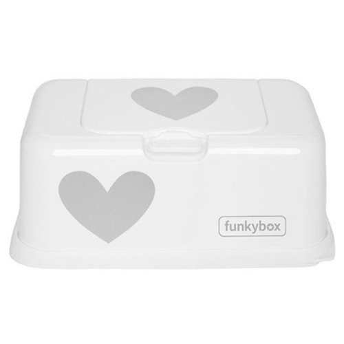 Funky Box Wit Zilveren Hart