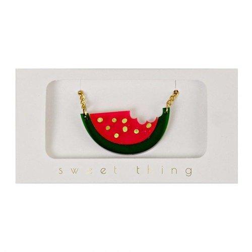 Meri Meri Watermelon Necklace Ketting