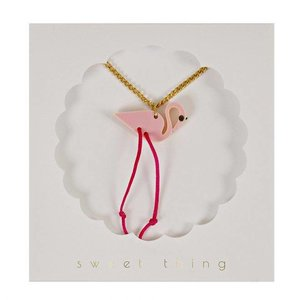 Meri Meri Meri Meri Flamingo Necklace Ketting