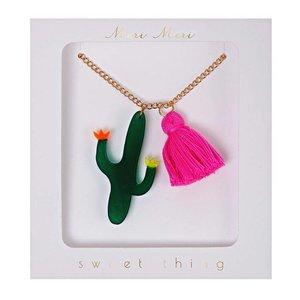 Meri Meri Meri Meri Cactus Necklace Ketting