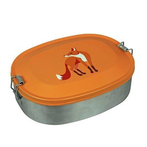 The Zoo Lunchbox Fox, roestvrij staal